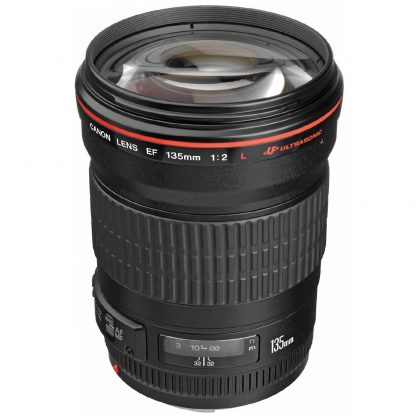 Canon ef 135mm f2 L USL Lens