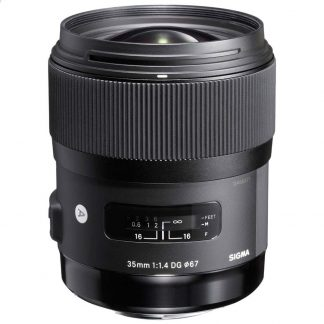 Sigma 35mm f/1.4 ART (Canon Mount) Lens brisbane camera hire