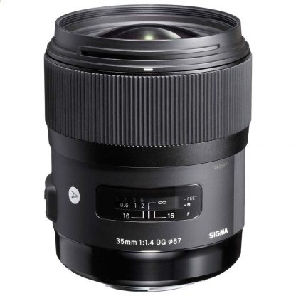 Sigma 35mm f/1.4 ART (Canon Mount) Lens brisbane camera hire