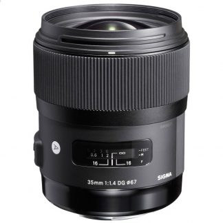 Sigma 35mm f/1.4 ART nikon Mount Lens brisbane camera hire