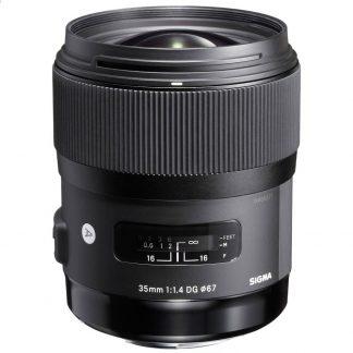 Sigma 35mm f/1.4 ART nikon Mount Lens brisbane camera hire