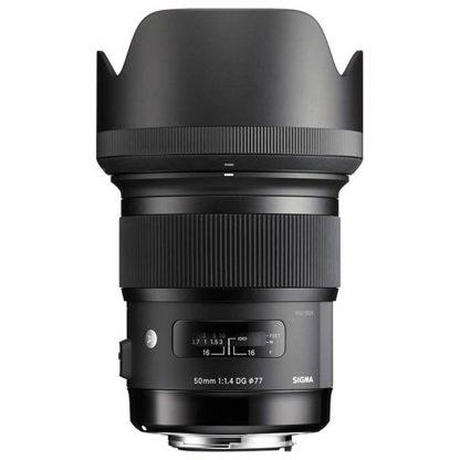 sigma 50mm f1.4 lens canon brisbane camera hire