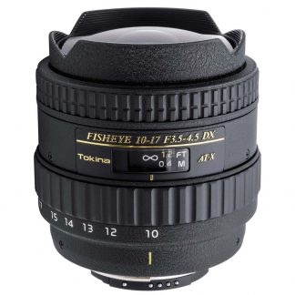 Tokina 10-17mm f/3.5-4.5 Fisheye (Nikon-Crop) Lens hire
