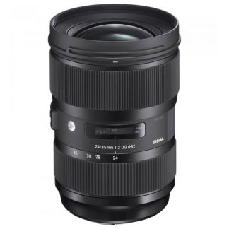 rent the sigma 24-35 f2 art camera lens