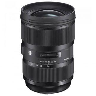rent the sigma 24-35 f2 art camera lens