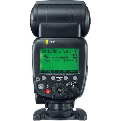 Canon Speedlite 600EX II-RT hire and rental brisbane back