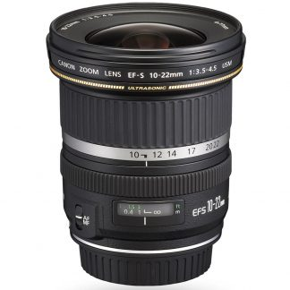Canon EF-S 10-22mm f/3.5-4.5 USM Camera Lens brisbane camera hire