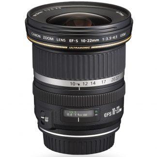 Canon EF-S 10-22mm f/3.5-4.5 USM Camera Lens brisbane camera hire
