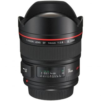 Canon EF 14mm f/2.8 L-Series USM II ultra wide angle Lens