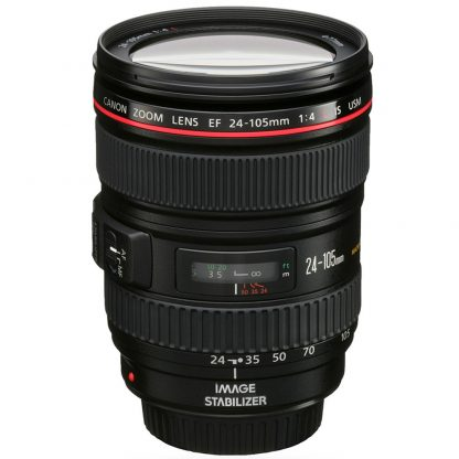 rent the Canon EF 24-105mm f/4 L IS USM I Lens from brisbane camera hire
