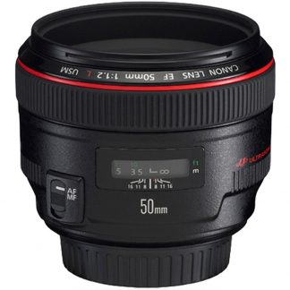 Canon EF 50mm f/1.2 L Series Lens