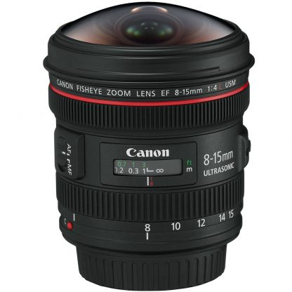 Canon EF 8-15mm f/4 L Fisheye Lens