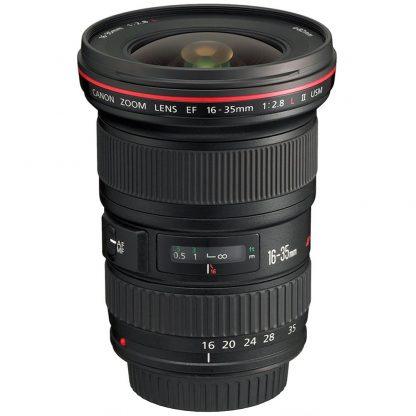 Canon 16-35mm f/2.8 L II Wide Angle Lens