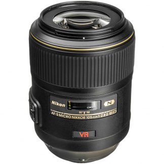 Nikon 105mm f/2.8 G VR Macro Lens