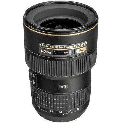 rent nikon 16-35 4 wide angle lens hire