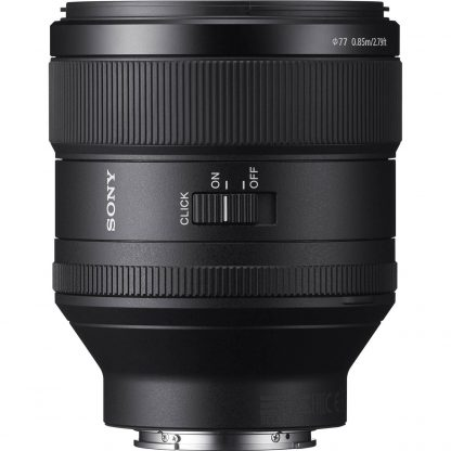 Sony FE 85mm f/1.8 G Master Prime Lens hire rent